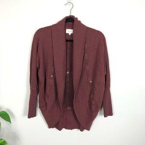 Aritzia Wilfred Diderot Sweater Burgundy Size XS